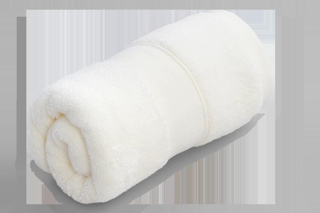 FC93163-Uterák z bavlneného froté svetle krémový