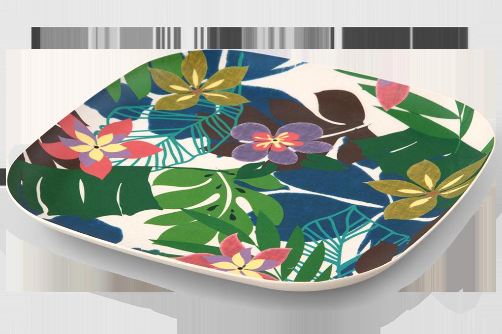 Jídelní talíř XL GoEco Bamboo, 26 cm