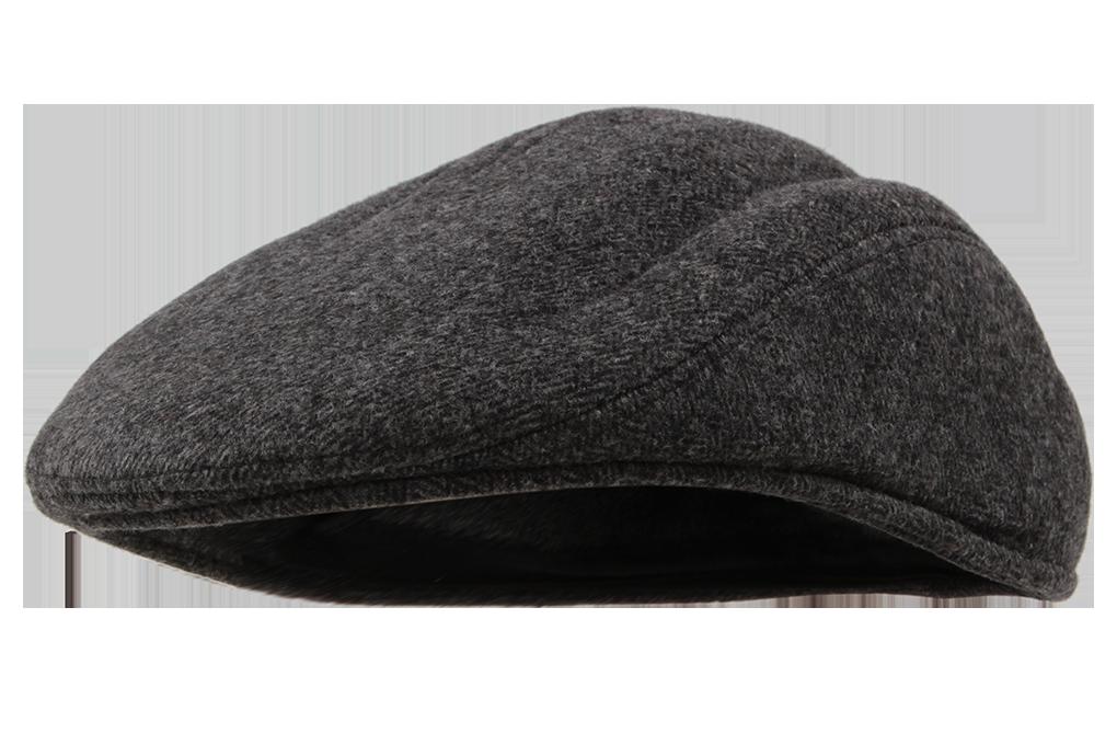 Bekovka čepice tmavě šedá