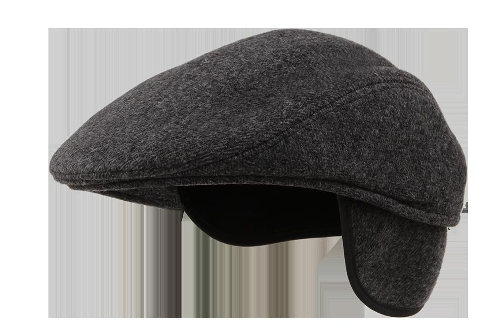 FC9344-Bekovka čiapka tmavo šedá