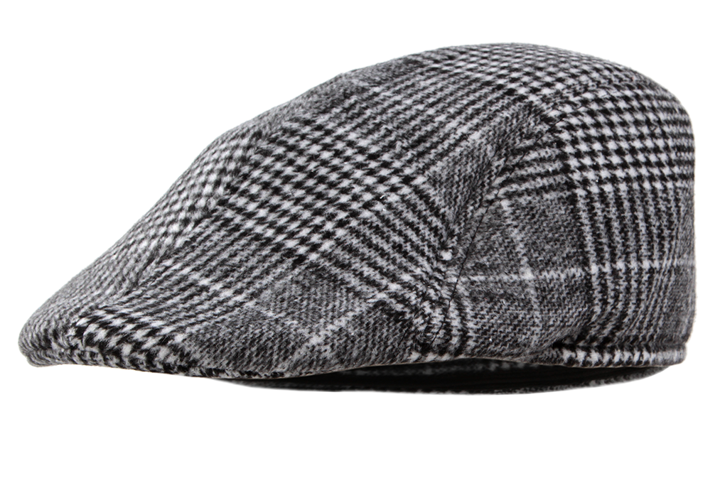 Bekovka čepice šedočerná