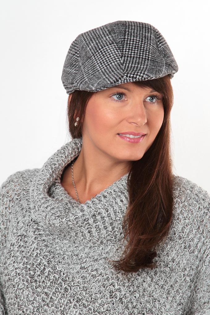 FC9345-Bekovka čiapky šedočierna