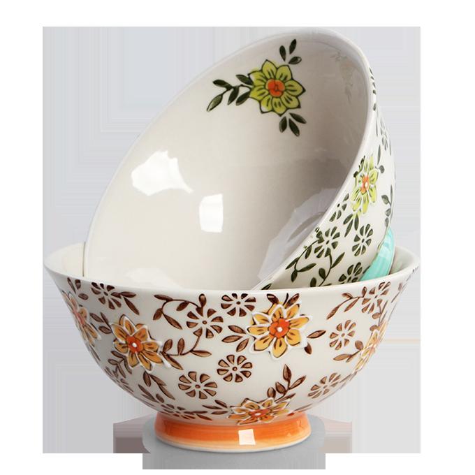 Luxusní sada 2 ks, porcelánová miska