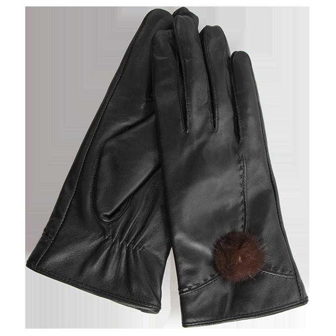 ELINA dámské rukavice, elegantní kožené   2 (L)