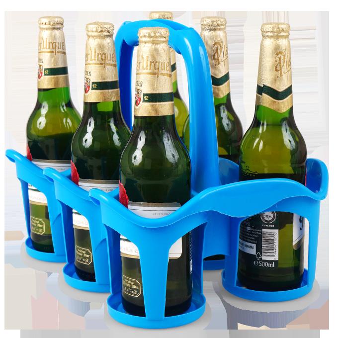 Vodneslahváč držák na 6 ks lahví