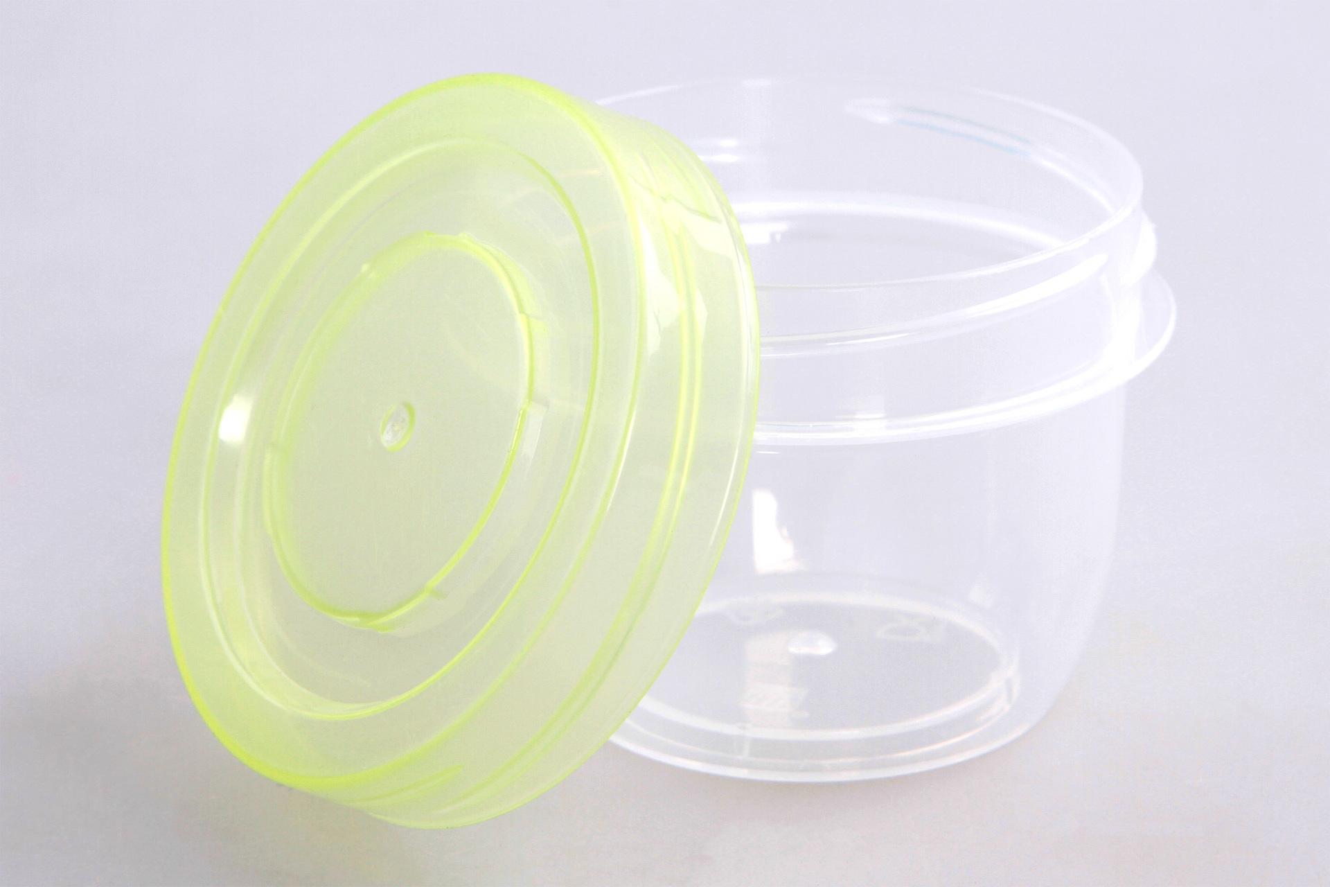 6 ks BOX 50 ml, z odolného plastu