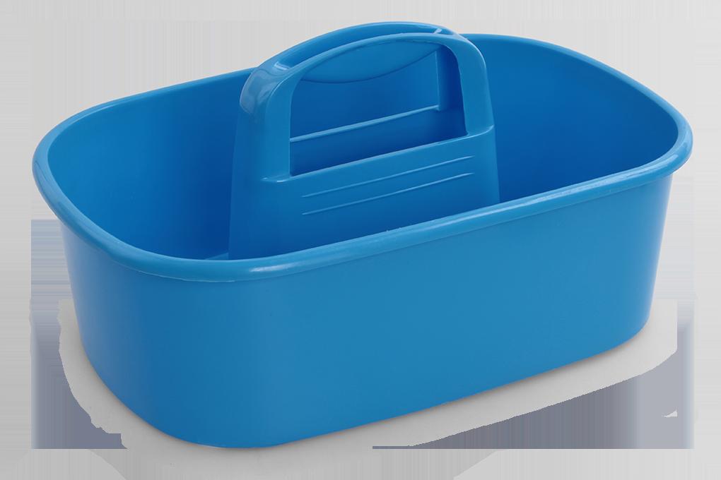 VODNESÚKLID nosič na úklid. prostředky modrý