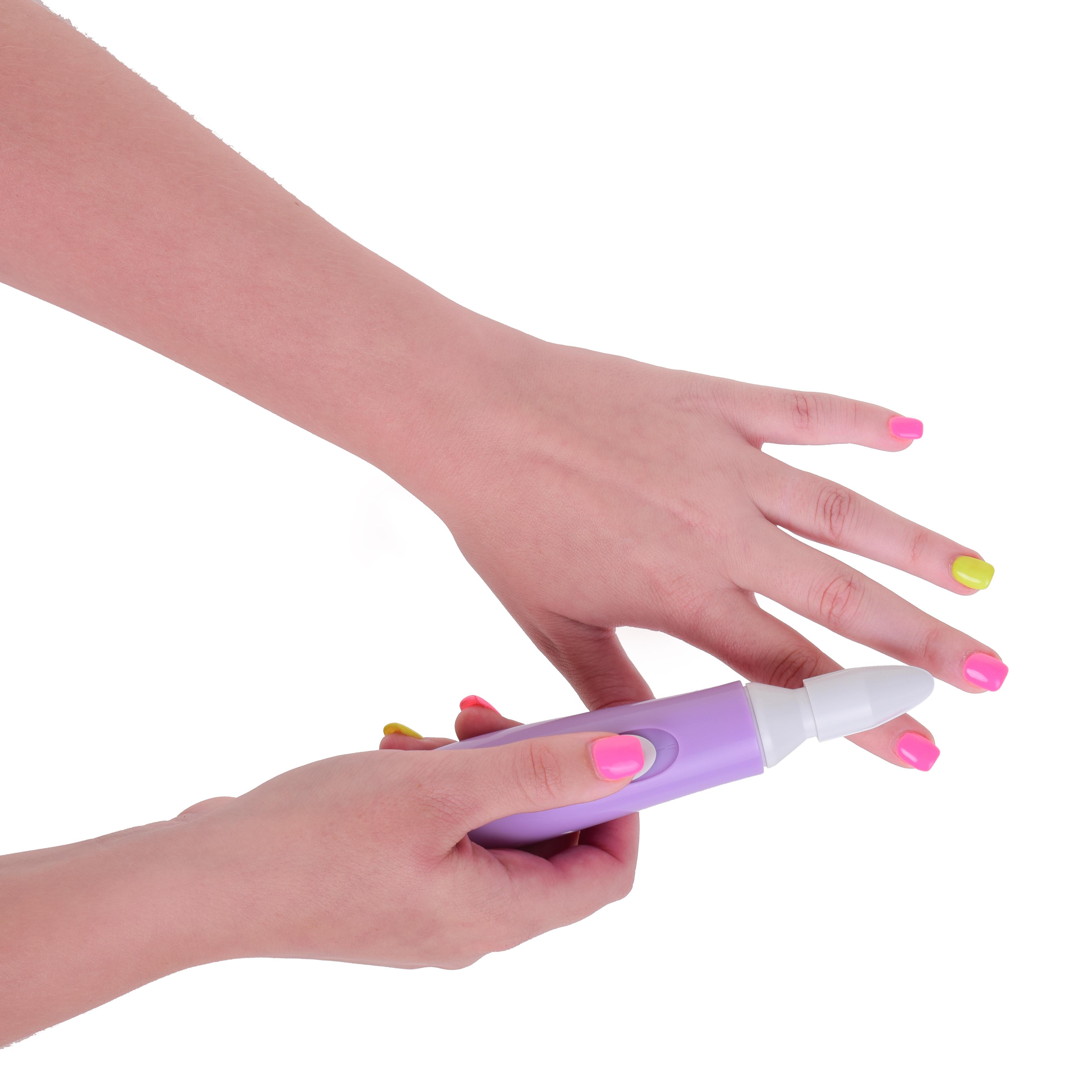 3v1 elektrický pilník a leštička na nehty NEHTOPILNÍK SYSTEMAT