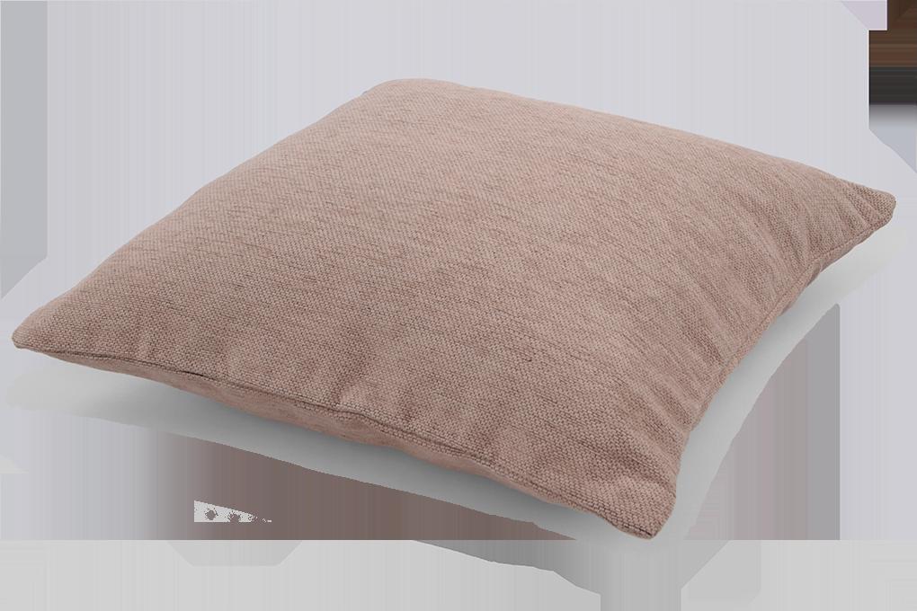 FC94142-Poťah na vankúš prírodné hnedý 45 x 45 cm