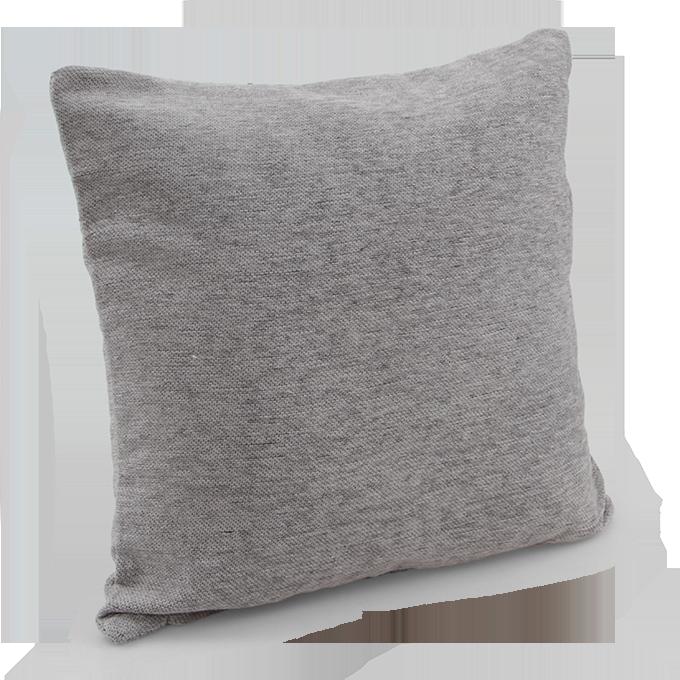 Potah na polštář šedý 45 x 45 cm