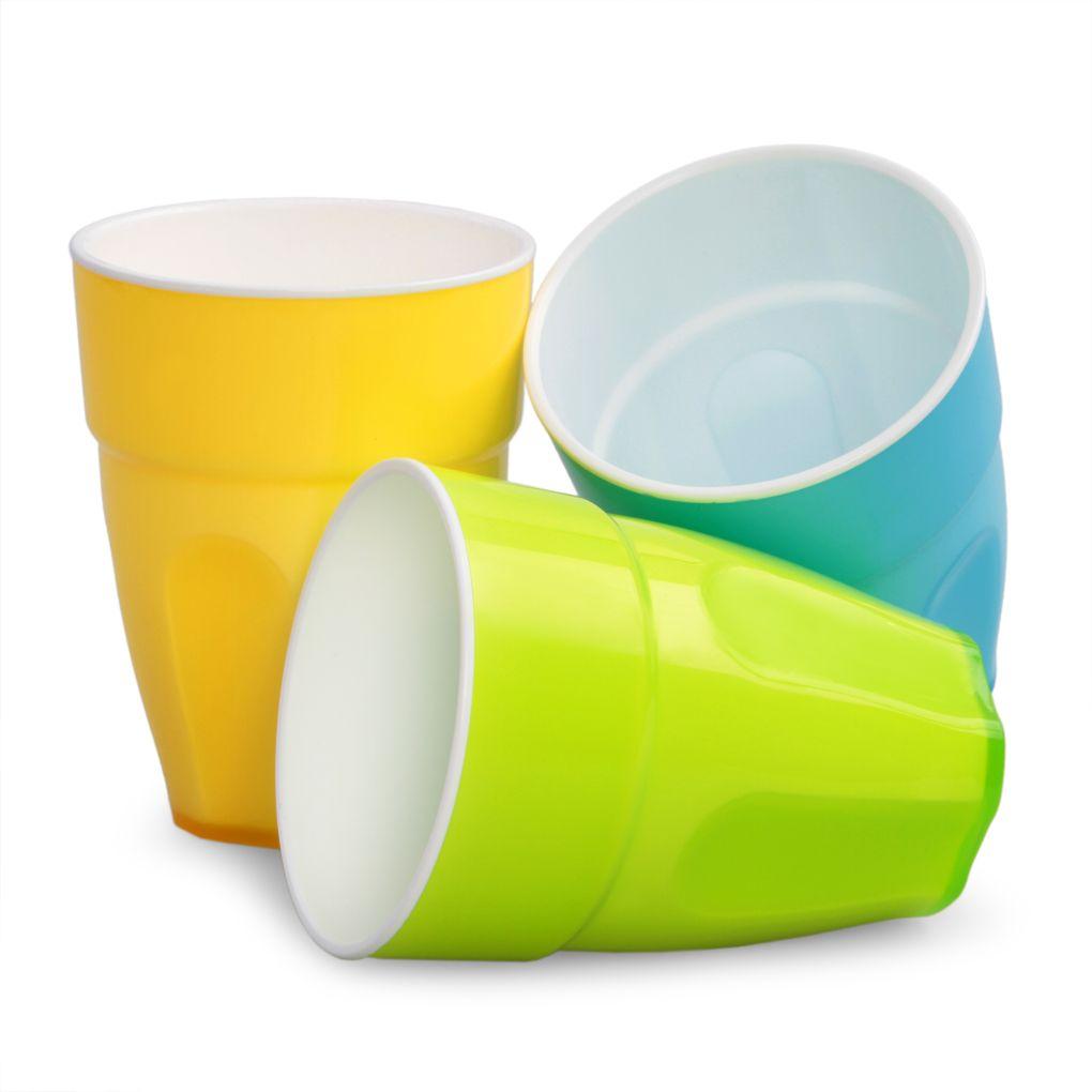 Kelímek 350 ml, z dvoubarevného plastu