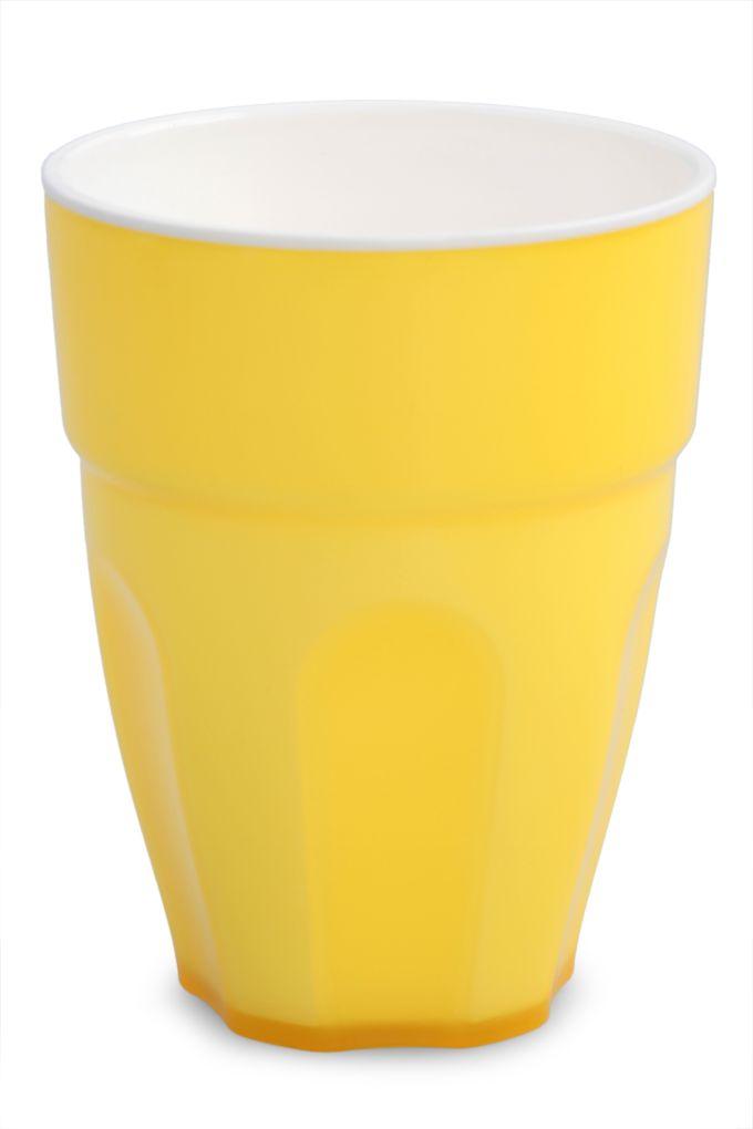 Kelímek 350 ml z odolného plastu žloutkový