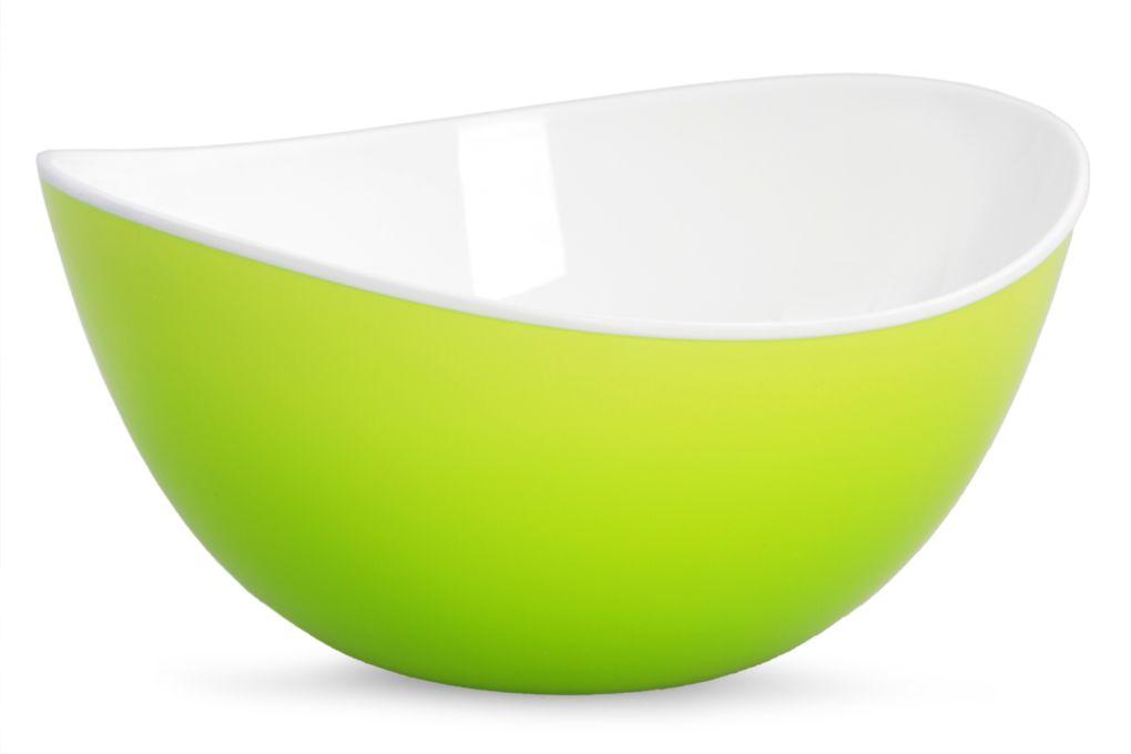 Miska 400 ml z odolného plastu zelená