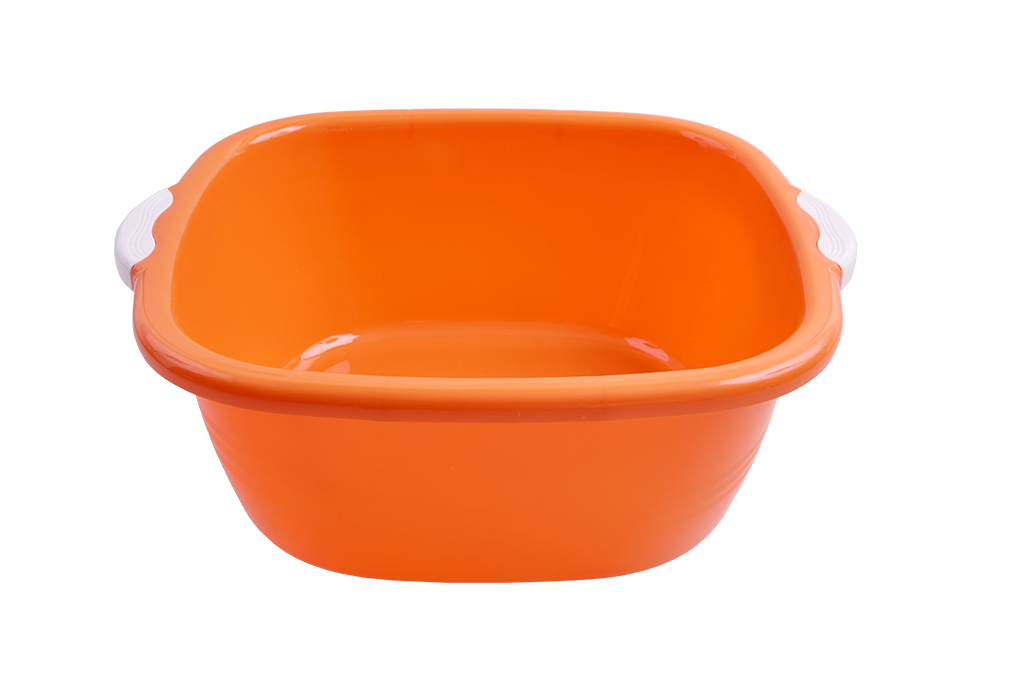 LAVOR ČTVERCOVÝ s madly  oranžový