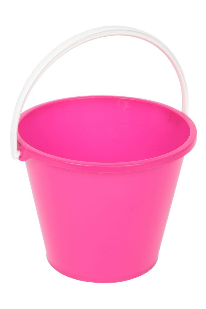 Velký kbelík objem 10 litrů růžový
