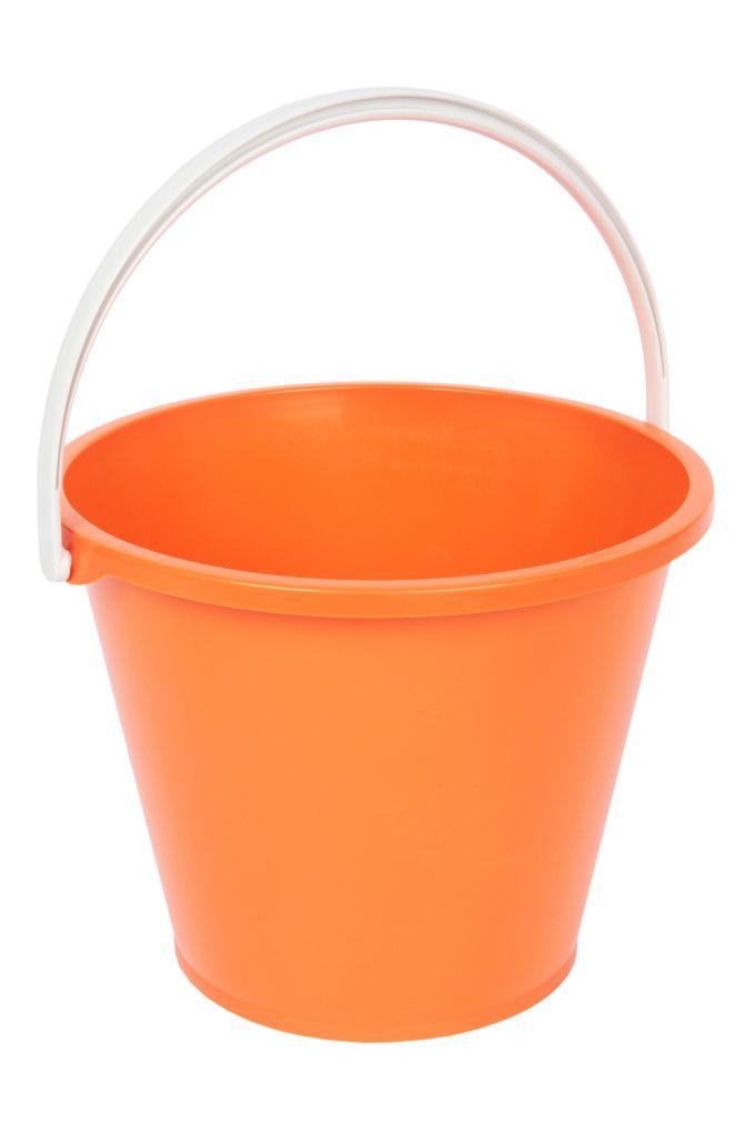 Velký kbelík objem 10 litrů oranžový