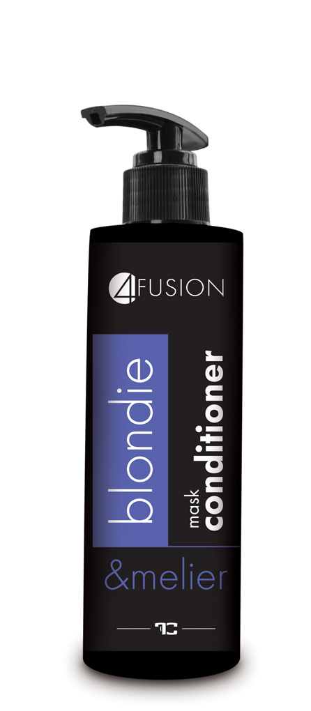 4 FUSION kondicionér 250 ml, blondie&melier