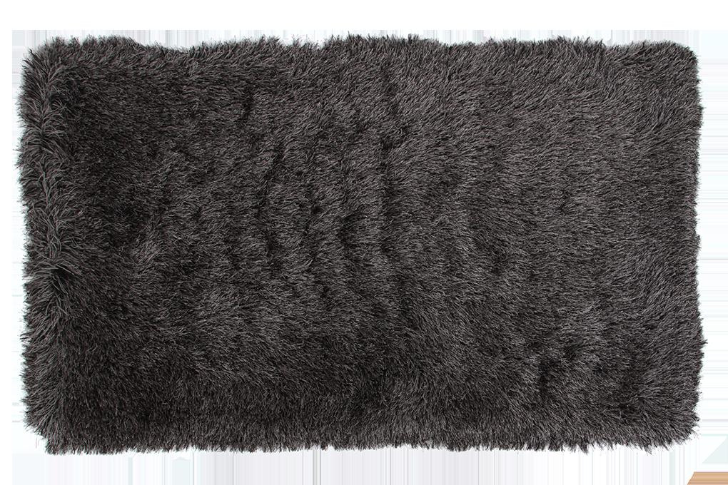 9CM LONGHAIR KOBEREC šedo černý,140x200 cm