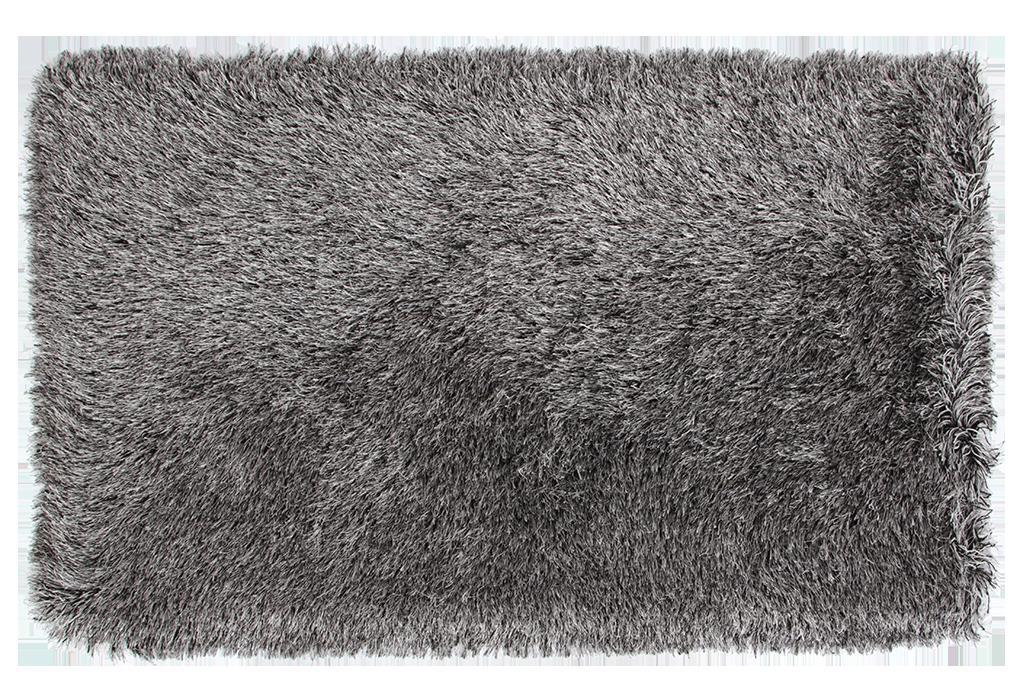 9CM LONGHAIR KOBEREC, stříbno černý,140x200 cm
