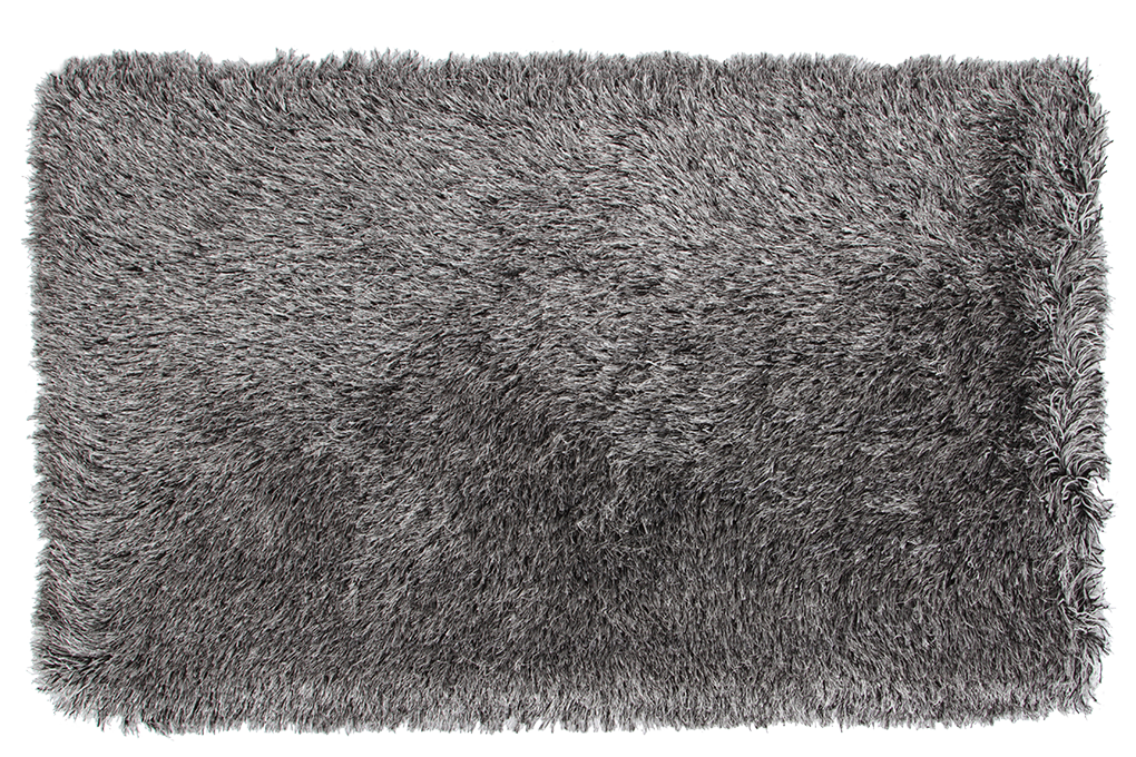 9CM LONGHAIR KOBEREC stříbrno černý,200x300 cm