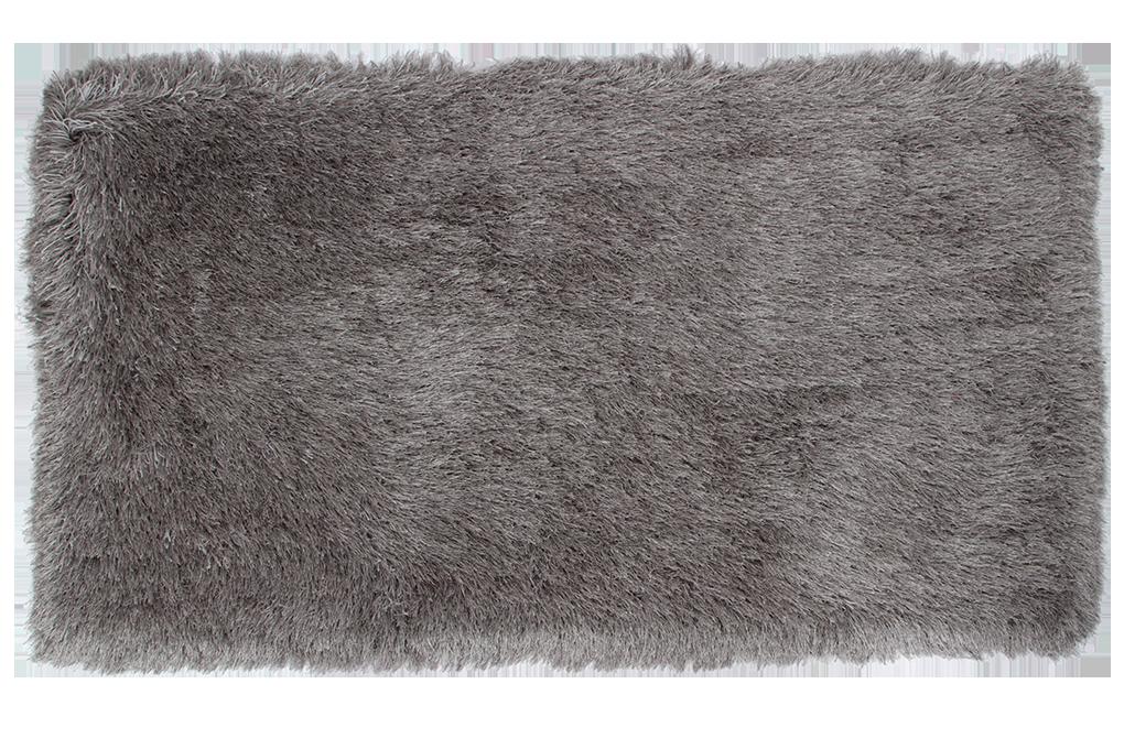 9CM LONGHAIR KOBEREC, stříbrný,160x230 cm