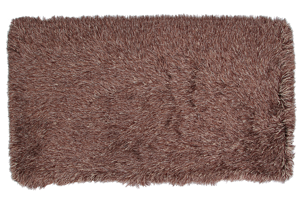 9CM LONGHAIR KOBEREC hnědo krémový,80x150 cm