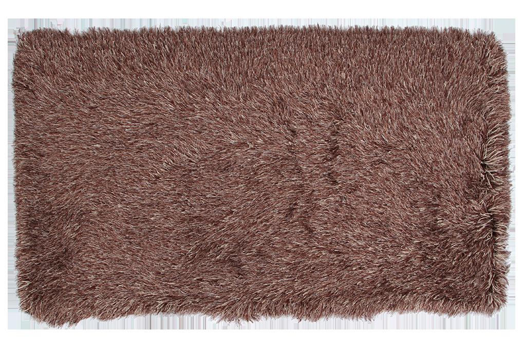 9CM LONGHAIR KOBEREC hnědo krémový,140x200 cm