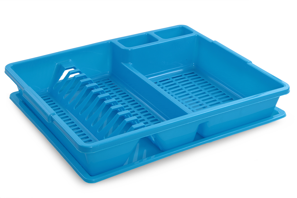 Odkapátor modrý odkapávač na nádobí