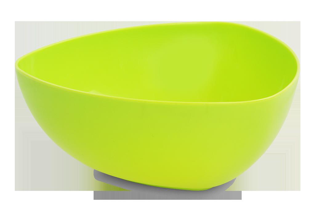 MÍSA 1500 ml trojhranná plastová, zelená