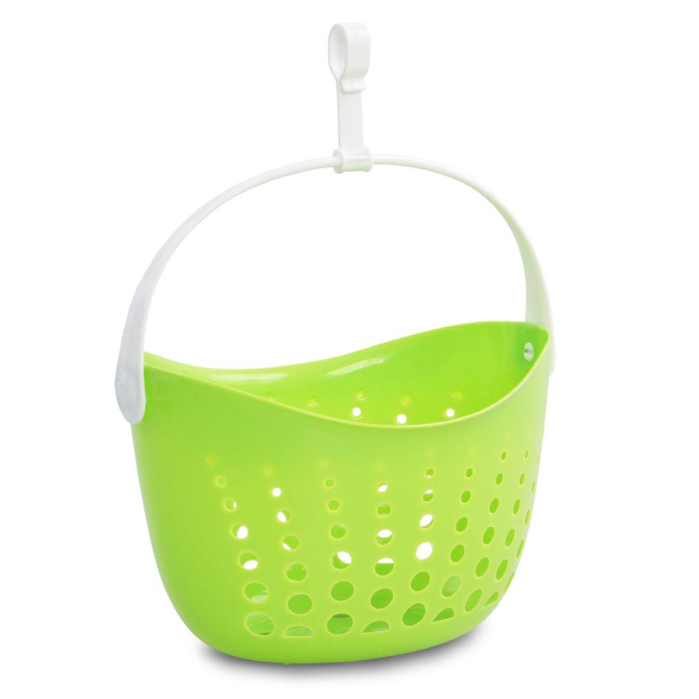 KOLÍČKOVNÍK závěsný košík na kolíčky zelený