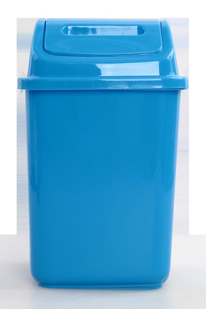 KOŠ na odpadky, s výklopným víkem