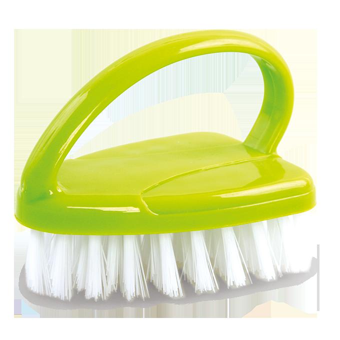 KARTÁČ čistící zelený