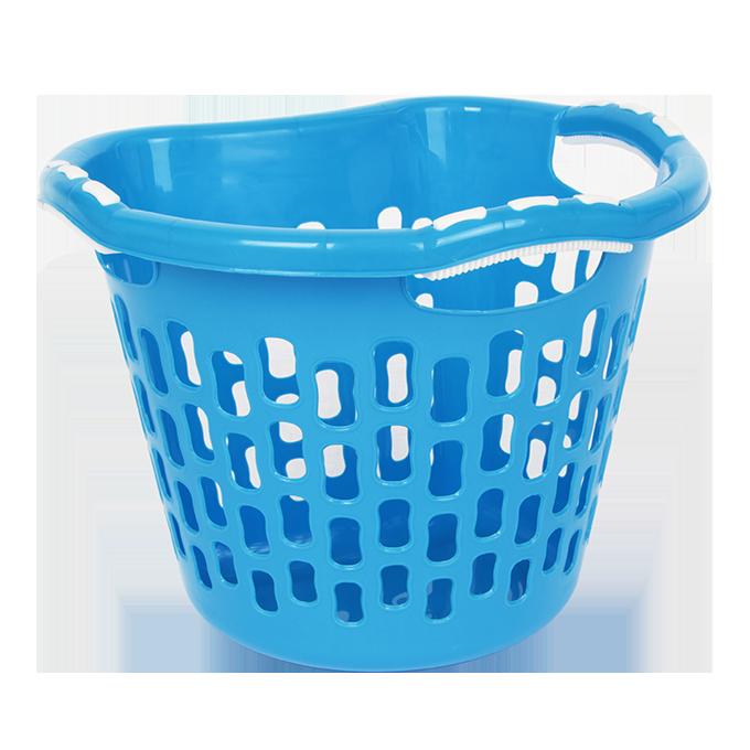 Koš na prádlo  12 l  modrý