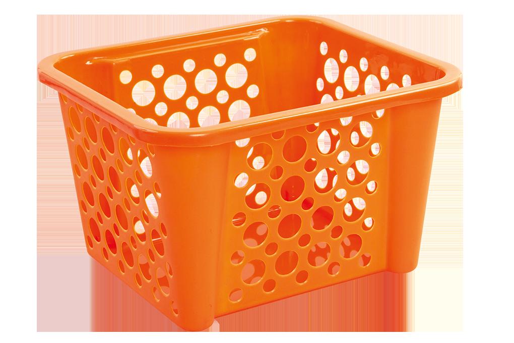 BUBBLEŠTOS  stohovatelný koš oranžový
