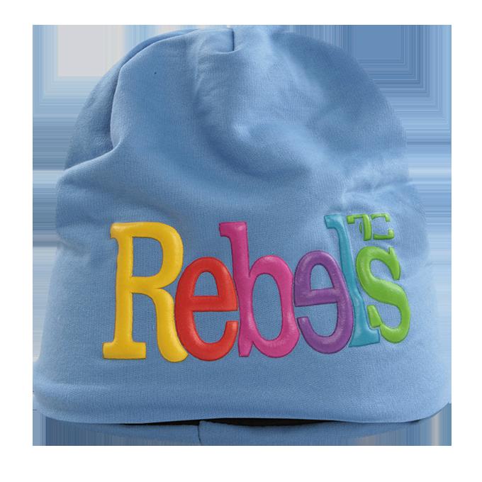 3D REBELS čepice obvod 56 cm modrá