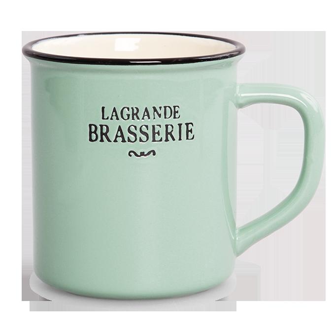 Velký hrnek 400 ml LAGRANDE BRASSERIE mintový