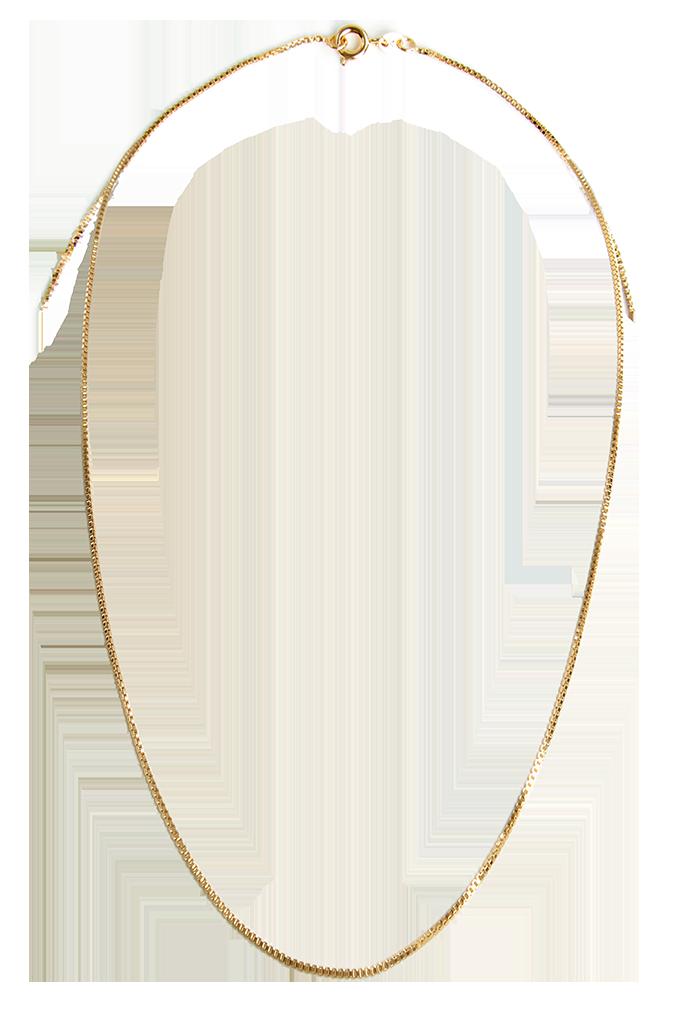 FC10881-Pozlátená retiazka 45 cm pozlaceno 18 Kt.