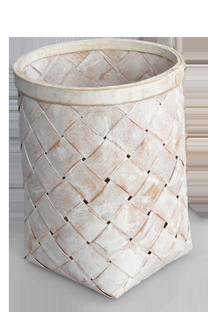Splétaný koš z bambusové dýhy GoEco