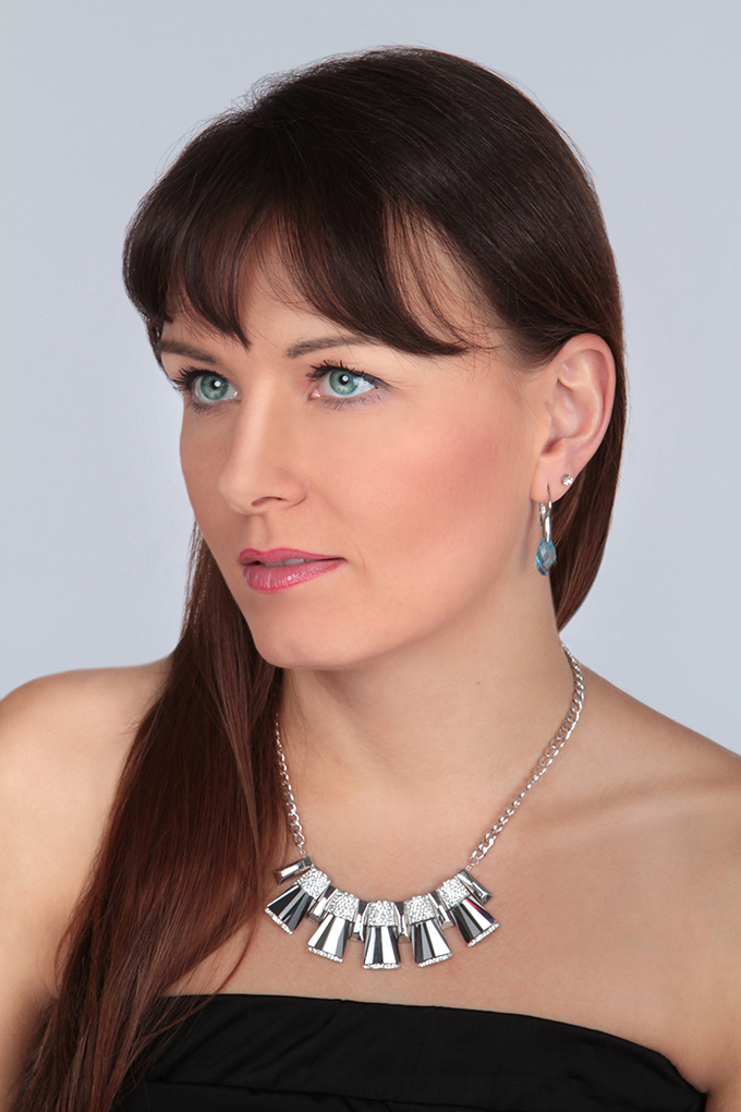 DA9814-SHINING GEOMETRIX náhrdelník