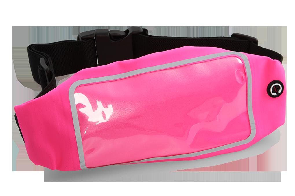 Športové puzdro na mobilný telefón - ružové