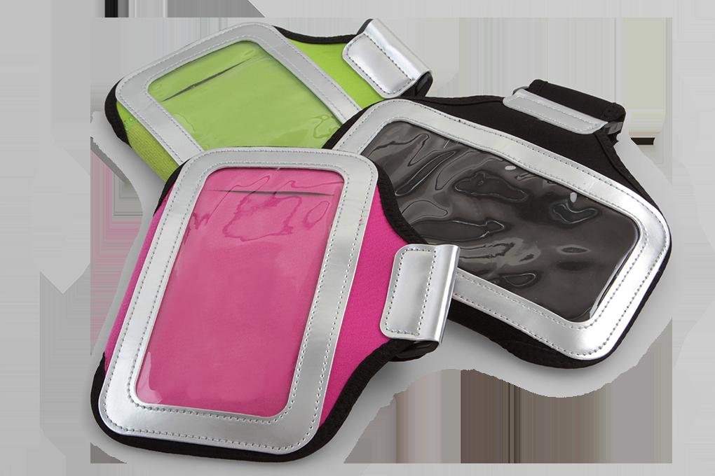DA95123-Športové púzdro na paži pre mobilné telefóny, ružové