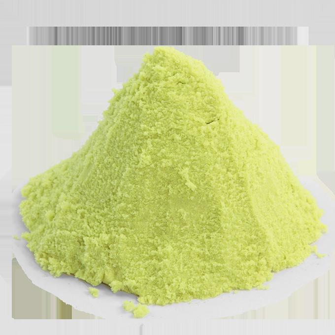 Náhradní náplň PUFI  kouzelný písek zeleno-žlutý