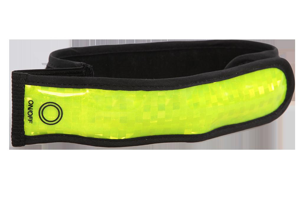 Reflexní pásek SVÍTÍCÍ/BLIKACÍ na ruku či nohu