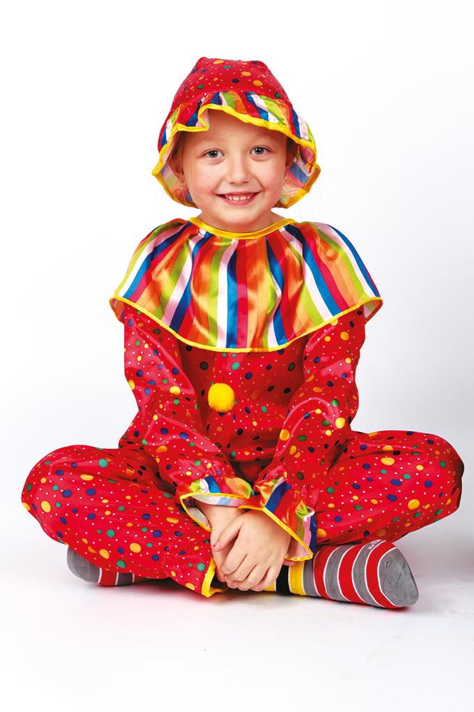 Kostým BAREVNÝ KLAUN, dětský   vel.3(L)