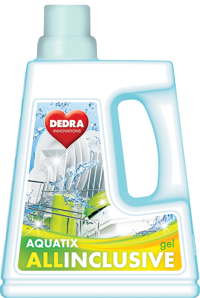 AQUATIX ALLINCLUSIVE, gel do myčky 1500 ml