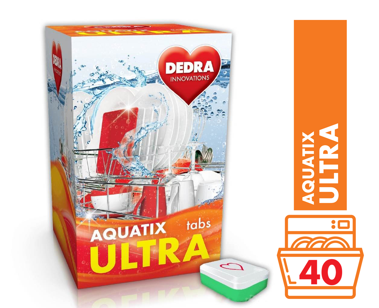 AQUATIX ULTRA tablety do myčky 40 TABS