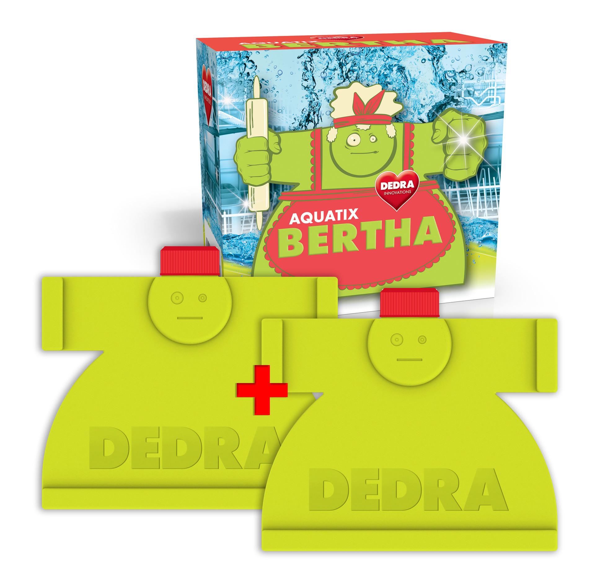 Intenzivní čistič myčky 300 ml + 300 ml BERTHA AQUATIX®