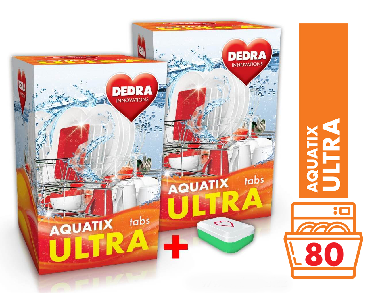 AQUATIX ULTRA tablety do myčky 80 TABS