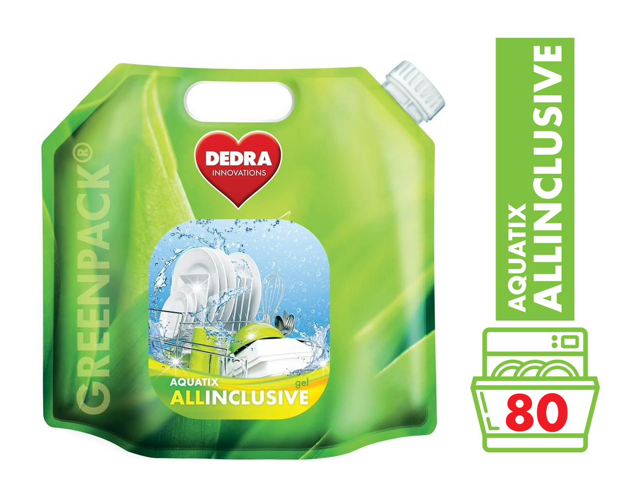 AQUATIX ALLINCLUSIVE gel do myčky 2400 ml GC04561