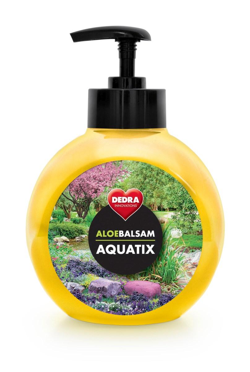 ALOEBALSAM AQUATIX koncentrát na ruční mytí nádobí, infinity s pumpičkou